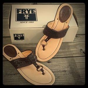 Frye Dani Woven Sandals